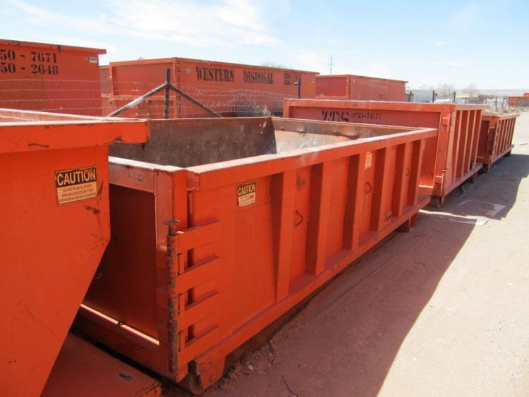 We offer dumpsters in sizes 10, 15, 20, 30 and 40 cubic yard.