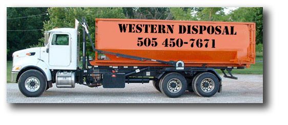 Western Disposal has the best roll off dumpster rates in Albuquerque!
