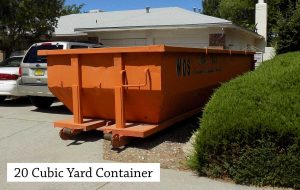 20 Cubic Yard Roll Off Dumpster