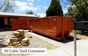 30 Cubic Yard Roll Off Dumpster